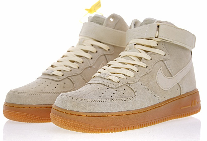 ae260cd93159adecf10e09fe91eac2a3 - Nike Air Force 1 High  07  Suede 經典 高筒 麂皮 板鞋 情侶鞋AA1118-100