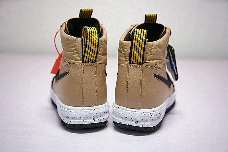 c7818acfb6413e553b092bf99c92a1e9 - Nike Lunar Force 1 Duckboot 機能 防水 高筒靴 黑棕 922807-701