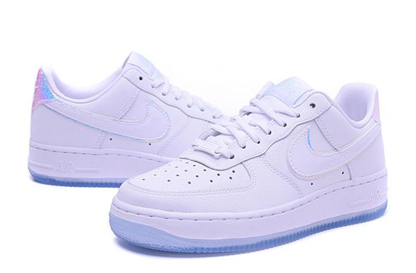 cf52529edc685b0498a71f6d40d517ed - NIKE AIR FORCE 1 '07 PRM 全白雷射 低筒 情侶 休閒運動鞋 滑板鞋 616725-105