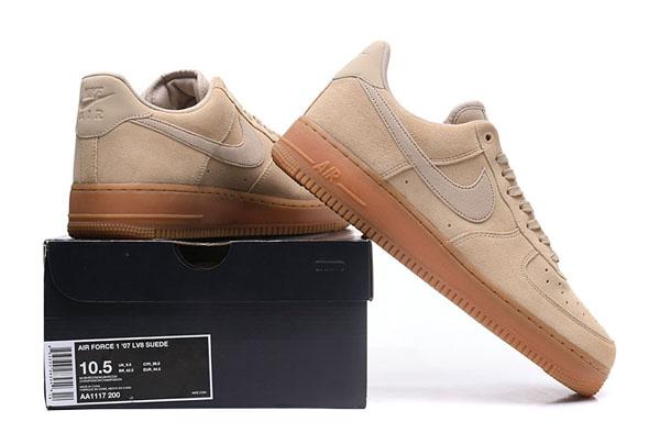 d338a9cc959aff2dc701bdfce70176ec - NIKE AIR FORCE 1 07 SE 情侶鞋 大地色 米白 AA0287-200