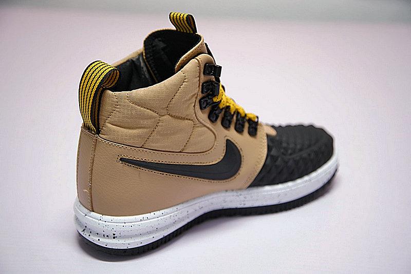 d4d768028014b77d7622e0176364de16 - Nike Lunar Force 1 Duckboot 機能 防水 高筒靴 黑棕 922807-701