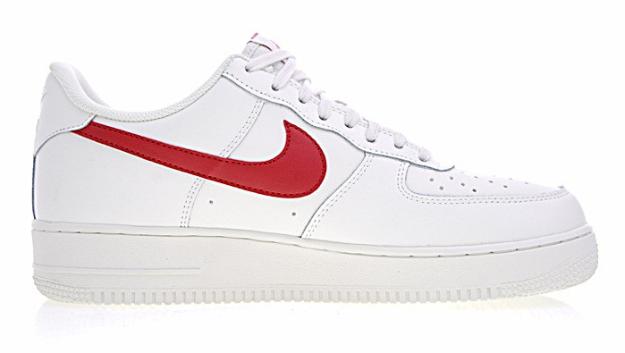 df1954b02a37b7005ed12f7863deeba8 - Nike Air Force 1 Low 07 低筒 皮革 板鞋 白紅 男鞋 315122-126