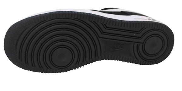 e2d36116f487d39136bf03ae3bc259ce - NIKE Air Force 1 麂皮 黑白 男鞋 315122-068