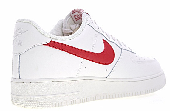 e5e92d2c461799c07711c5f742b1eb42 - Nike Air Force 1 Low 07 低筒 皮革 板鞋 白紅 男鞋 315122-126