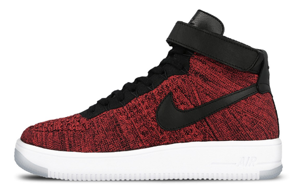 feb71b5ba135b4ef9879e58c2100b585 - Nike Air Force 1 Flyknit AF1 大紅飛線 男子休閑板鞋817420-600