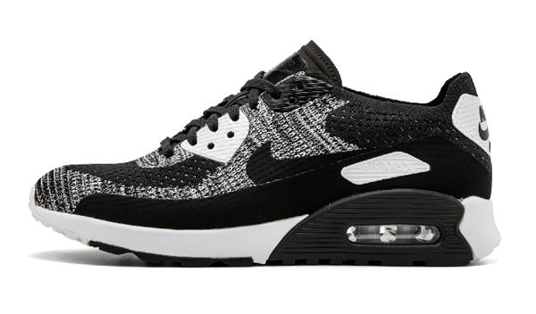 1bd9b356ba4c4b20a60c0286b4171147 - Nike W Air Max 90 Ultra 2.0 Flyknit 黑灰 針織 情侶鞋 881109 002 875943 001