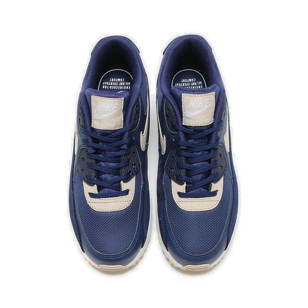 20f3fa02129ceae943a66b4677188d0c - Nike Wmns Air Max 90 寶藍白 麂皮 網布 復古慢跑鞋 休閒 情侶鞋 325213-410