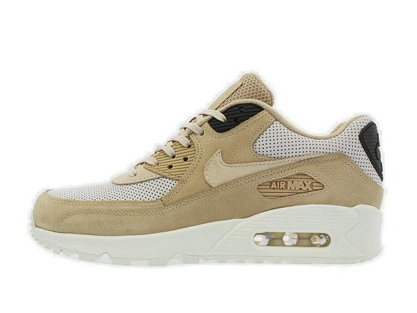 28f3d188bc6c59c53a83c1cc32cc52b2 - NIKE MAX 90 卡其 皮面 情侶鞋 839612-200