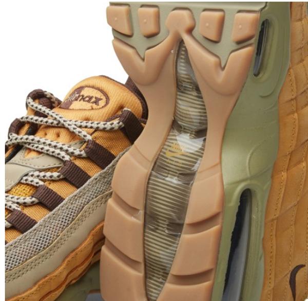 30d18d80d9d2e87f363267767490799c - NIKE AIR MAX 95 PRM LEATHER WINTER WHEAT 土黃 卡其 全氣墊 男鞋 538416-700