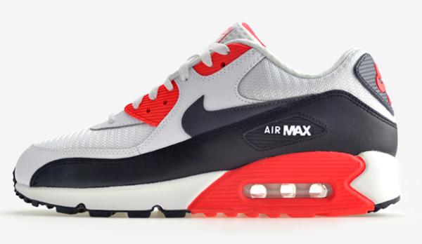324b1037fcbfd9718b8962332a066c85 - NIKE AIR MAX 90 ESSENTIAL 皮革 網布 慢跑鞋 男 537384-126