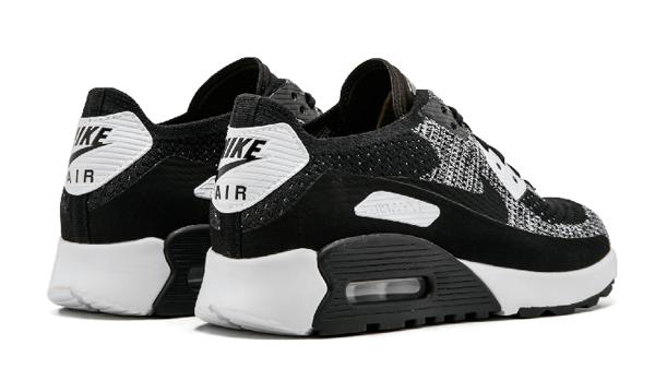 36a54694734d68fb47d37bde3aec9071 - Nike W Air Max 90 Ultra 2.0 Flyknit 黑灰 針織 情侶鞋 881109 002 875943 001