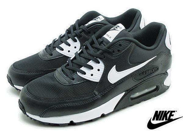 43ee7ed8168fb9cfb4a801f87f2318a7 - NIKE WMNS AIR MAX 90 ESSENTIAL 黑白 皮革 網面 經典 氣墊 復古慢跑鞋 男女鞋 616730-023