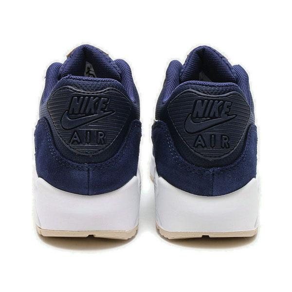 59858f2b94ed14dcf24f2f307533a92c - Nike Wmns Air Max 90 寶藍白 麂皮 網布 復古慢跑鞋 休閒 情侶鞋 325213-410