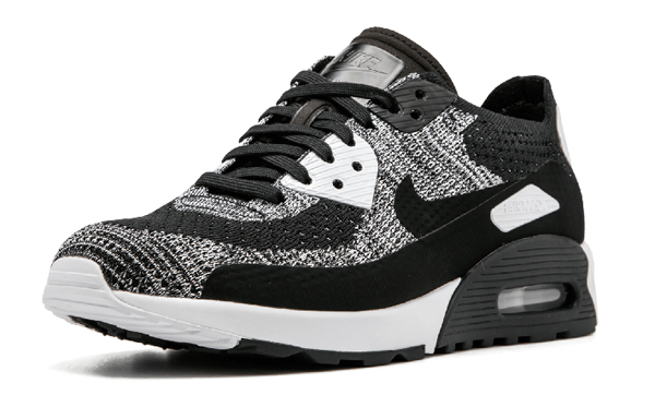 aad0bbceb4be124a16a82f5eeefbf3bf - Nike W Air Max 90 Ultra 2.0 Flyknit 黑灰 針織 情侶鞋 881109 002 875943 001