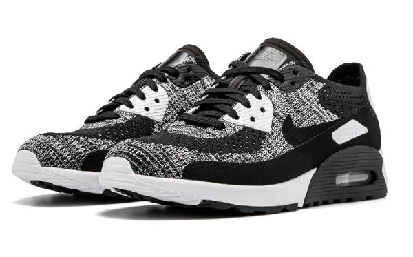 d7422978f0ba5e12203537d0c6997706 - Nike W Air Max 90 Ultra 2.0 Flyknit 黑灰 針織 情侶鞋 881109 002 875943 001