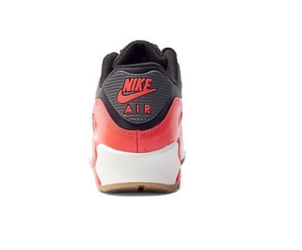 f080bc448e0ed260cea5e482e9f0b302 - NIKE WMNS AIR MAX 90 ESSENTIAL 皮革慢跑鞋(黑紅) 616730-025 女
