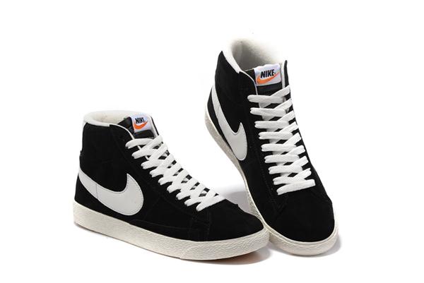 0527c583ba4b0c68754afc6aab060fdc - NIKE BLAZER LOW PRM VNTG 復古 黑白 麂皮 防滑 情侶鞋