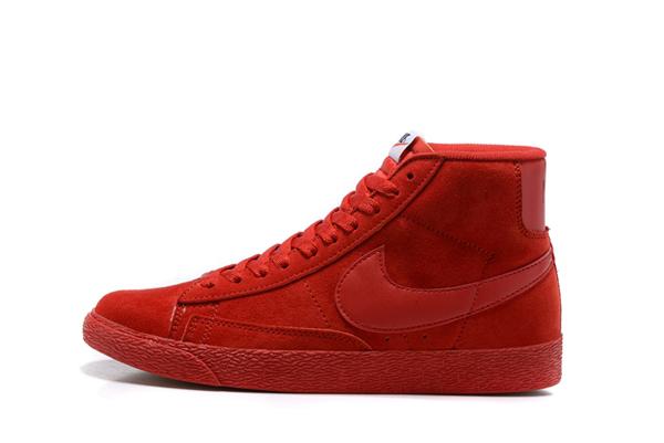07480db11f87eb797724d2a70026d71e - NIKE BLAZER LOW PRM VNTG   復古 全紅 麂皮 防滑 情侶鞋