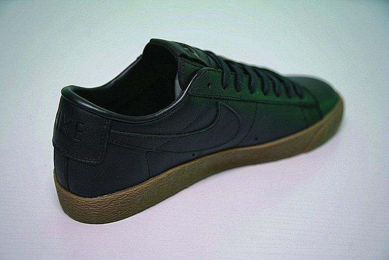 0ca54b4236718cdf94af94ac095e2fcb - Nike Blazer Low 經典 百搭 板鞋 系列 黑黃 情侶鞋 AJ3733-991