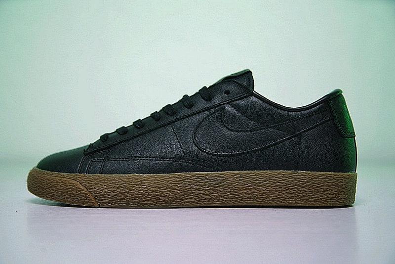 111921e23661b909520172a4e6cd4510 - Nike Blazer Low 經典 百搭 板鞋 系列 黑黃 情侶鞋 AJ3733-991