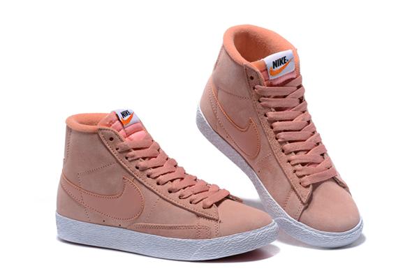 232c67aaff92c9f6620299eb0d94ba91 - NIKE BLAZER LOW PRM VNTG 復古 粉白 麂皮 防滑 女鞋