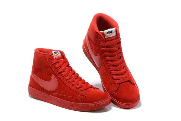 41afec0ef7f2a157aa069c279dd113ab - NIKE BLAZER LOW PRM VNTG   復古 全紅 麂皮 防滑 情侶鞋