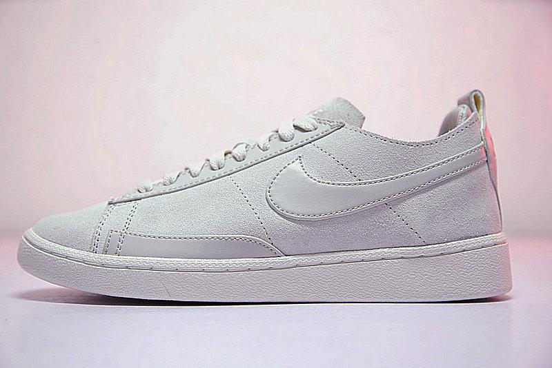 46c2363ea1817509c204672d2899b493 - 男鞋 Nike Blazer Low CS TC 開拓者 內增高 百搭 潮流 板鞋 淺灰 AA1057-100