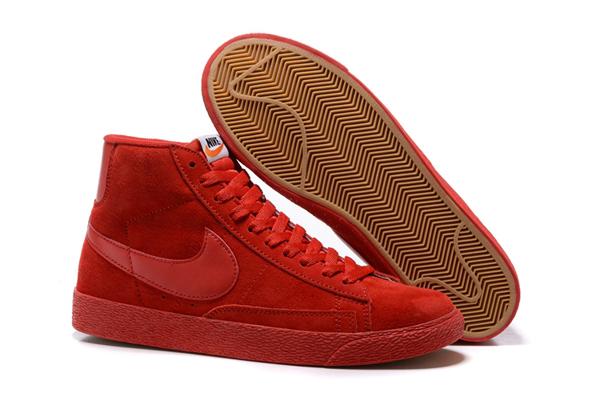 4da4d192f31ad59a36fd7c1fd92e51c9 - NIKE BLAZER LOW PRM VNTG   復古 全紅 麂皮 防滑 情侶鞋