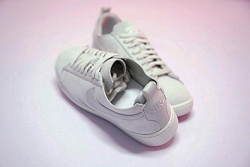4eb80f2019d1fa8213af80dfbc585058 - 男鞋 Nike Blazer Low CS TC 開拓者 內增高 百搭 潮流 板鞋 淺灰 AA1057-100