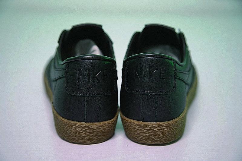 4ee1cf101577f7f56b864cbd09c5c072 - Nike Blazer Low 經典 百搭 板鞋 系列 黑黃 情侶鞋 AJ3733-991