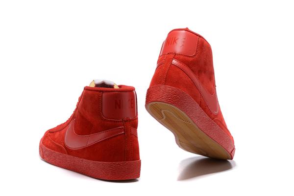 536d6ff6264b1218a6161041585c55fc - NIKE BLAZER LOW PRM VNTG   復古 全紅 麂皮 防滑 情侶鞋