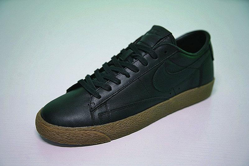 5430f83dd8e48de99b9b4fdbbf10c54d - Nike Blazer Low 經典 百搭 板鞋 系列 黑黃 情侶鞋 AJ3733-991