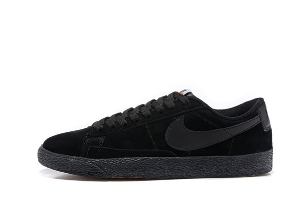 6ac4c2de8e23354170bb354b0e33dad8 - NIKE BLAZER LOW 麂皮 防滑 灰色 情侶鞋 443603-601