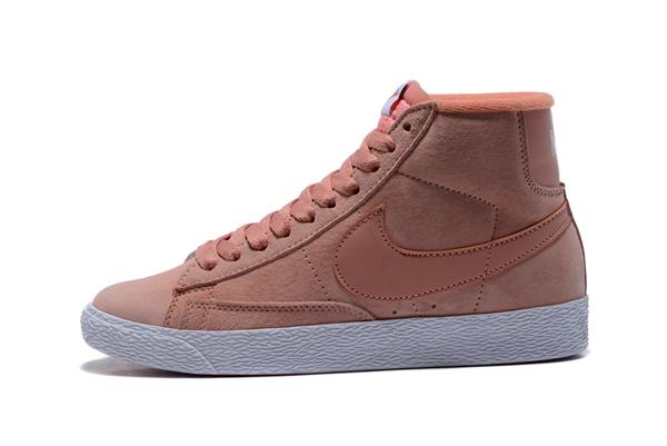 6b81bb72a5f67b96b4e4ac47b57639cc - NIKE BLAZER LOW PRM VNTG 復古 粉白 麂皮 防滑 女鞋