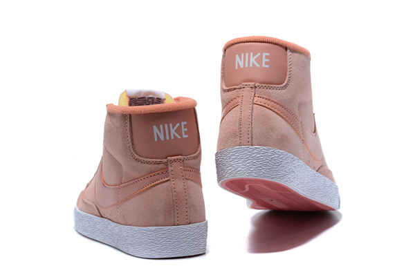 754ea7dac84dbdddf167ab72c126ae56 - NIKE BLAZER LOW PRM VNTG 復古 粉白 麂皮 防滑 女鞋