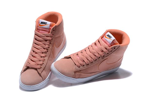 79d319ed8e06e5f20f9612da0e3760ed - NIKE BLAZER LOW PRM VNTG 復古 粉白 麂皮 防滑 女鞋