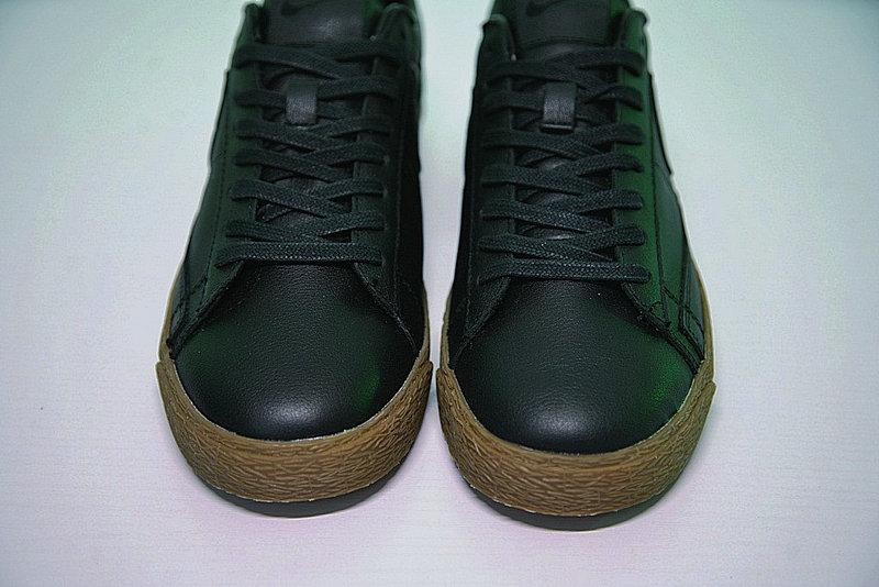 80daa9505187714707fdf5d7e34fcce6 - Nike Blazer Low 經典 百搭 板鞋 系列 黑黃 情侶鞋 AJ3733-991