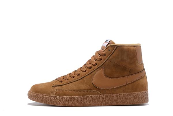 8cfe1fa54af3877d9fd858eab1ef1f4c - NIKE BLAZER LOW PRM VNTG  復古 棕色 麂皮 防滑 男鞋