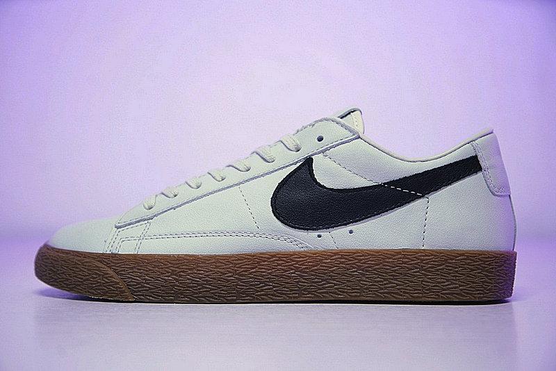 931dcde7c5b277d56284e47430436fc1 - Nike Blazer Low ID 開拓者 經典 百搭 板鞋  水灰黑膠黃 AJ3733-992
