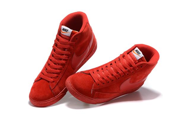 d1d57247993243247ba775038b4b6ebe - NIKE BLAZER LOW PRM VNTG   復古 全紅 麂皮 防滑 情侶鞋