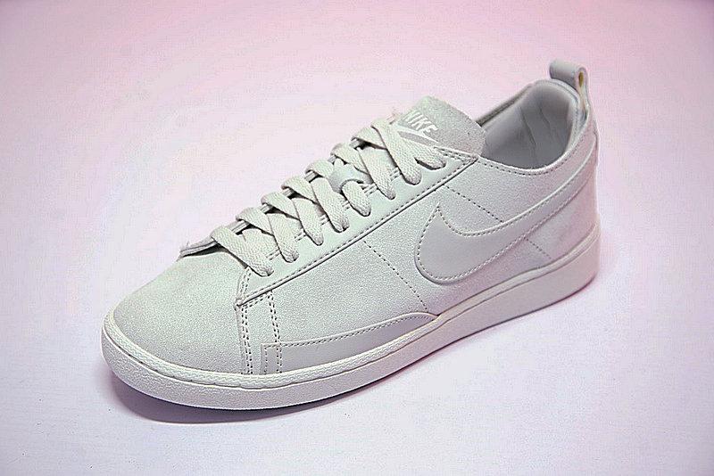 d2fef27eb2b906c94693faacf6aa3d5e - 男鞋 Nike Blazer Low CS TC 開拓者 內增高 百搭 潮流 板鞋 淺灰 AA1057-100