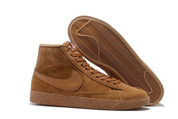 e546452e5a858a1180f142a446527b59 - NIKE BLAZER LOW PRM VNTG  復古 棕色 麂皮 防滑 男鞋