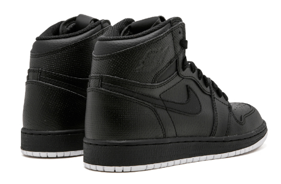 089a66fe38e3ccbe6a1777f3cd81fcdf - Air Jordan 1 Retro High OG BG - 575441 002 黑色 白底 高筒 籃球鞋 情侶款