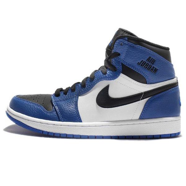 13c8ea7dc1fd8cdc7e2e5c3720b138c0 - NIKE AIR JORDAN 1 RETRO HIGH AJ1 藍白黑 皮革 男鞋 332550-400