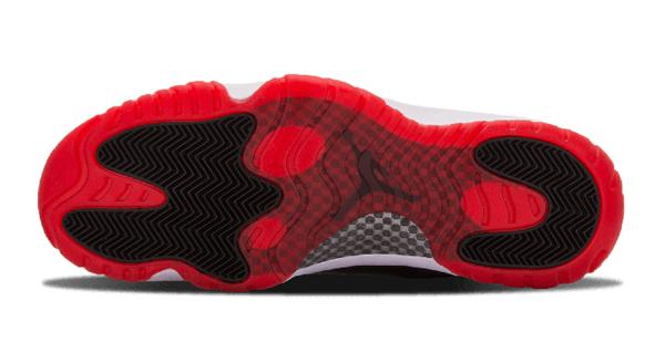 1418016d2eed8aed2824caa1c417031a - Nike Air Jordan 11 Retro Low Bred AJ11 低幫 黑紅 男鞋 528895 012
