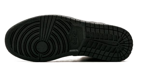 2128d89310d0ba70d5f489a0e05184d2 - Air Jordan 1 Mid 全黑 男鞋 籃球鞋 高筒 554724 034
