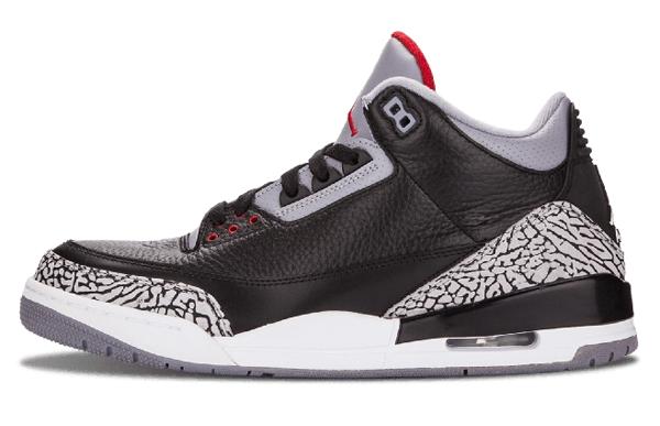 30a397dc8b2e9492d6baa951d81e40c8 - Air Jordan 3 Retro  Black Cement 爆裂 黑水泥 男鞋 136064 010
