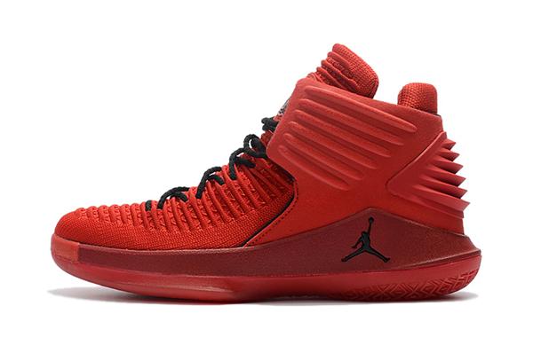"""4099267e6022f18d2f101ac739ce0c50 - Air Jordan XXXII 32代 """"Rosso Corsa"""" 賽車紅色 高筒籃球鞋 男款 耐磨 時尚 百搭 AH3348-601"""