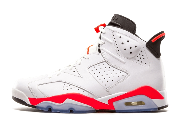 587989134902db999790aa2cde271377 - Air Jordan 6 Retro Infrared 男女鞋 白黑紅 6代 高筒 籃球鞋 384664 456