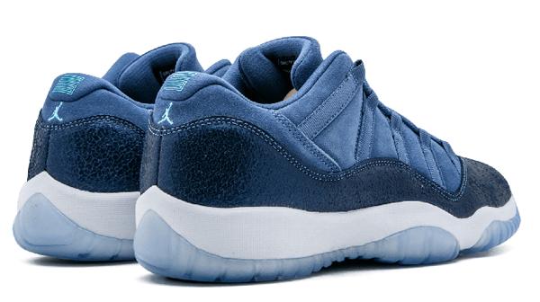 5abb6f8b5f6e1ca5934d5e3f9e6441ef - Air Jordan 11 Retro Low GG - 580521 408 藍 麂皮 男女鞋